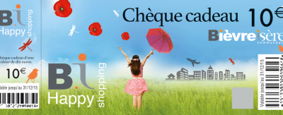 cheques cadeaux BI Happy Shopping