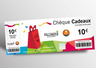 Nouveau chèque cadeau – Villebon 2