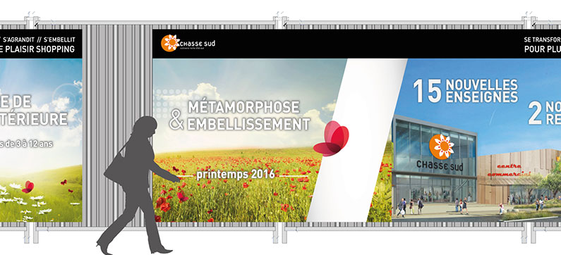 Accompagnement travaux – Chasse Sud – Eurocommercial