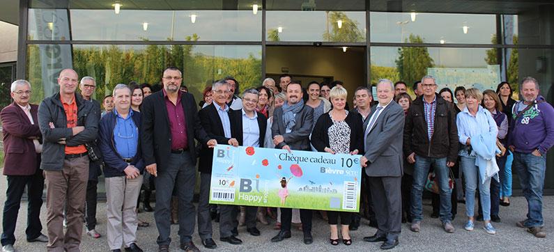 Chèque cadeau Bièvre-Isère Communauté