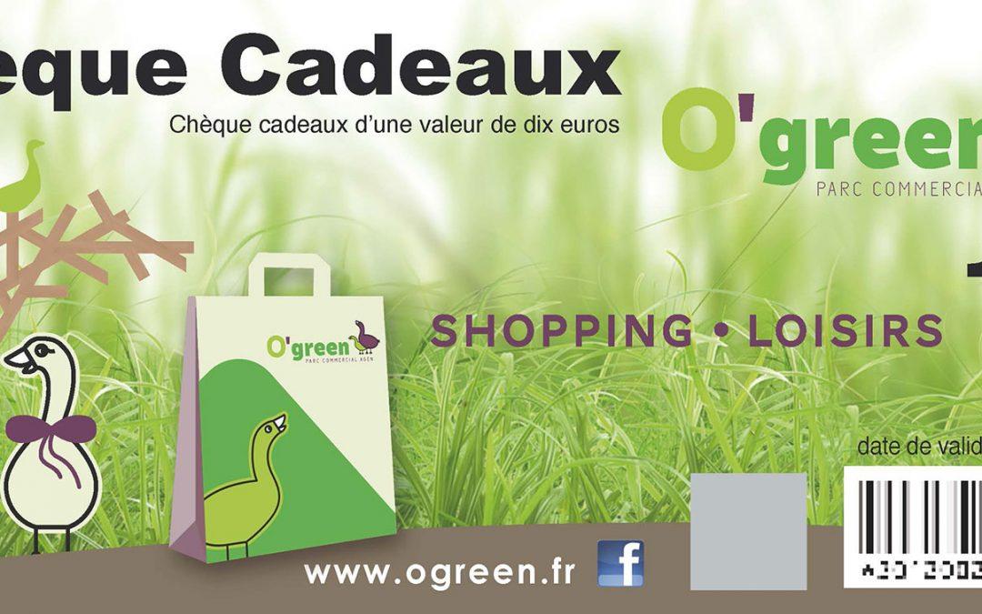 Chèques Cadeaux Supergreen & O'Green