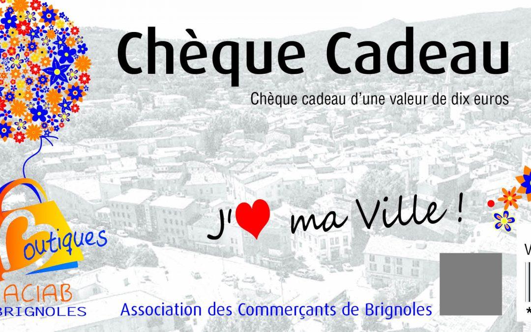 Chèque Cadeau local – ACIAB Brignoles