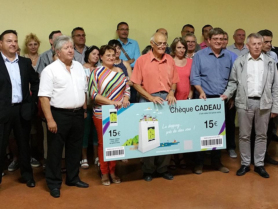 Chèque cadeau communauté de communes