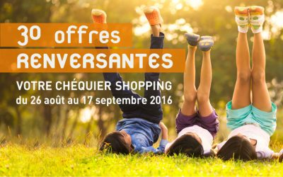 Opération chéquier couponing – Chasse Sud