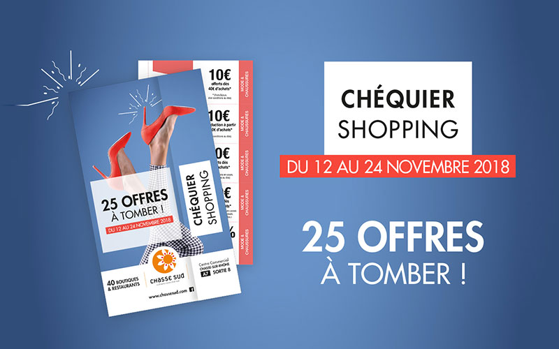 Chéquier shopping Chasse Sud