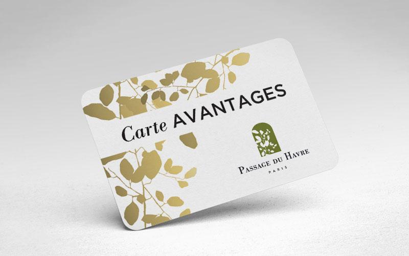 Programme fidélité PRO – Passage du Havre