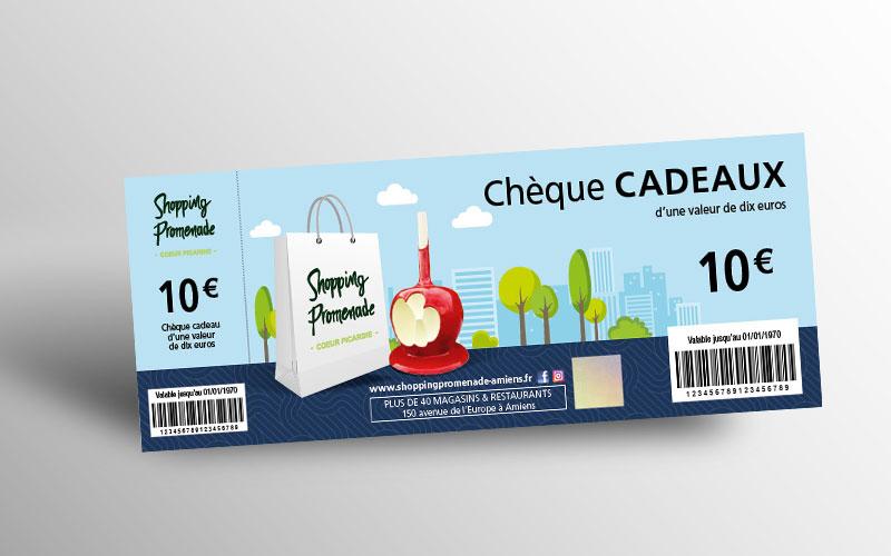 Chèque cadeau Shopping Promenade