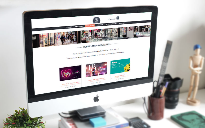 Bel Est : nouveau site web
