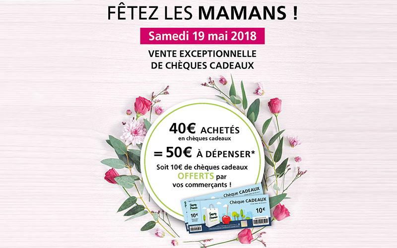 Opération booster les chèques cadeaux – Shopping Promenade 2018