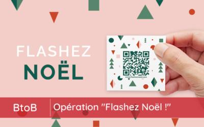"Le ""PASS SHOPPING NOËL"" devient ""FLASHEZ NOËL !"""