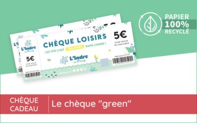 "Un chèque cadeau ""green"""
