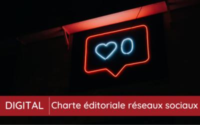Une charte éditoriale réseaux sociaux, pour quoi faire ?